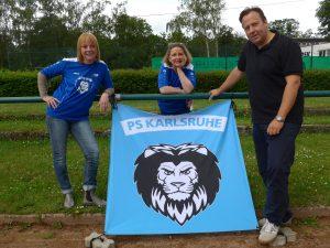 Unser Vorstand: Manula, Cerstin und Markus